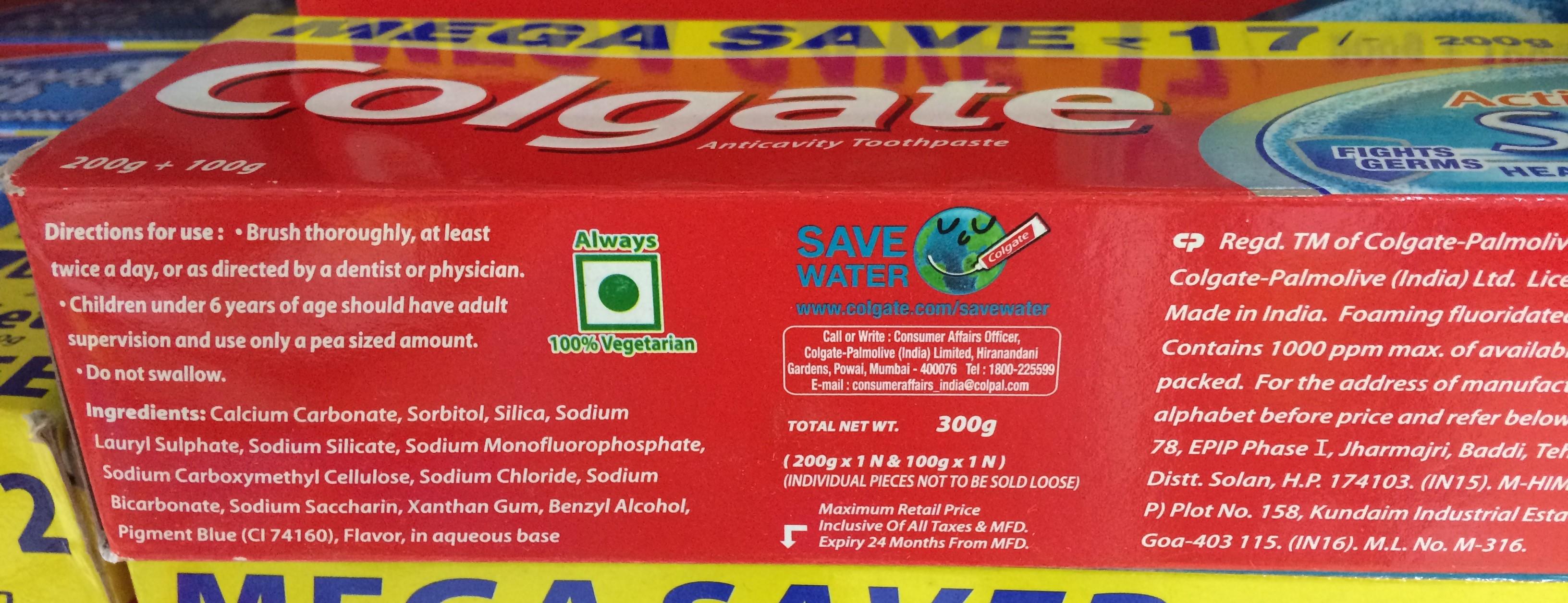 Colgate Toothpaste: description, composition, photo 23